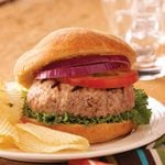 Stuffed Pork Burgers