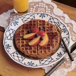 Oatmeal Waffles