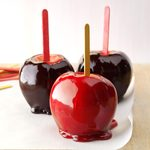 Black-Hearted Candy Apples