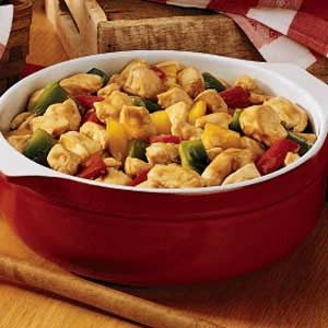 Chicken 'n' Peppers