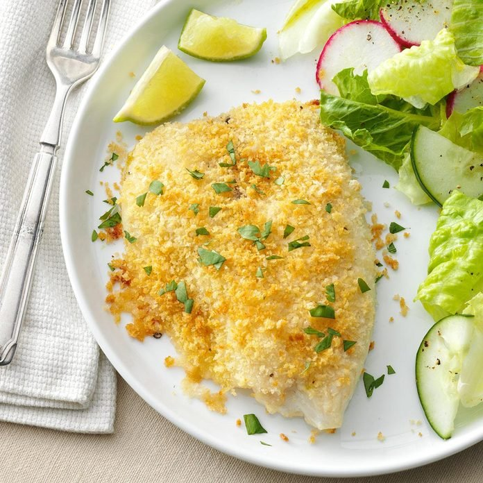 Crunchy Oven-Baked Tilapia