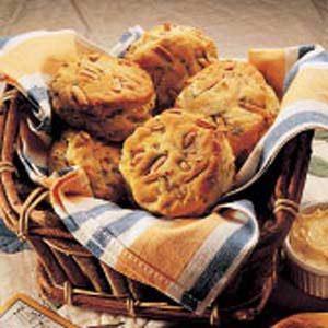 Savory Almond-Buttermilk Biscuits