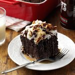 German Chocolate Tres Leches Cake