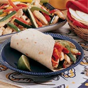 Contest-Winning Chicken Fajitas