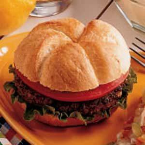Meat Loaf Hamburgers