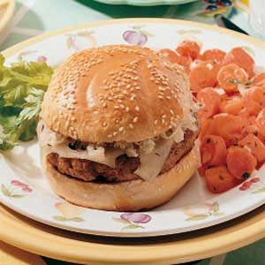 Reuben Burgers
