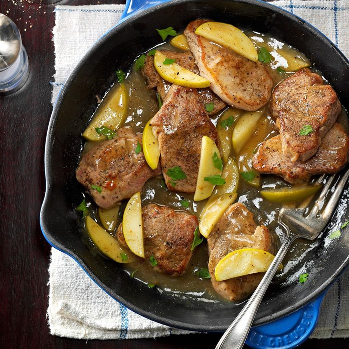 Apple & Spice Pork Tenderloin