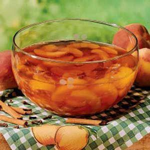 Spiced Peach Salad