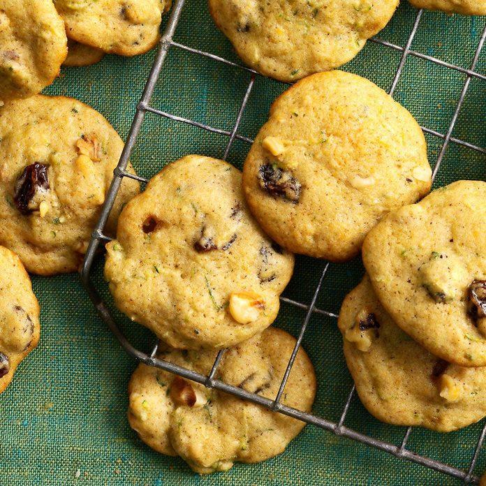 Soft Zucchini Spice Cookies