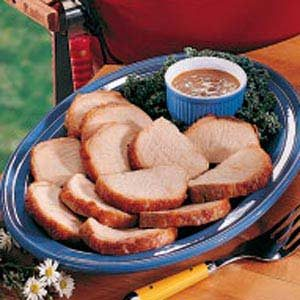 Pork with Tangy Mustard Sauce