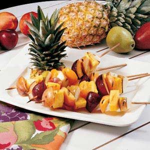 Grilled Fruit Kabobs