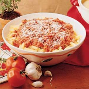 Fresh Tomato Pasta Toss