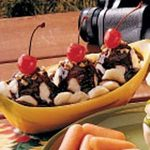 Quick Banana Splits