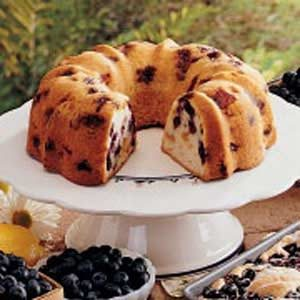Blueberry-Peach Pound Cake