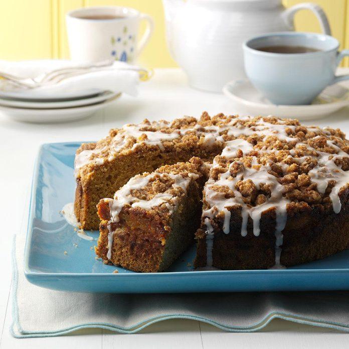 Buttercup Squash Coffee Cake