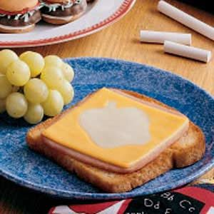 Cheese Cutout Sandwiches