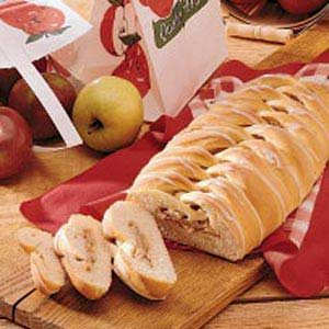 Apple Ladder Loaf