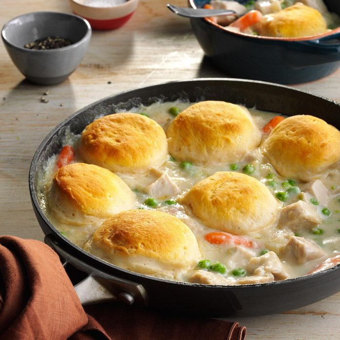Turkey biscuit stew