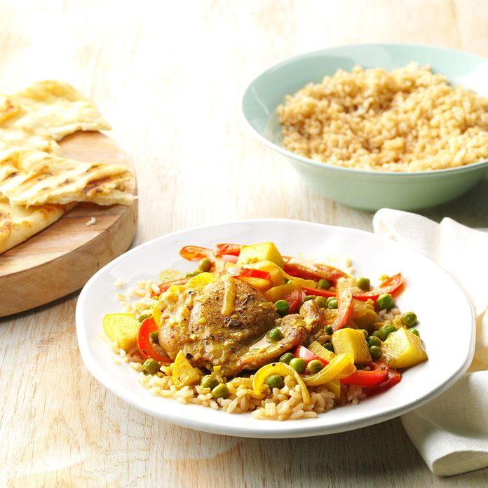 Apple Chicken Curry
