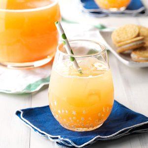 Santa's Orange-Kissed Cocktail