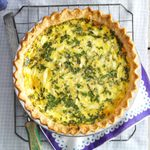 Cheese and Fresh Herb Quiche