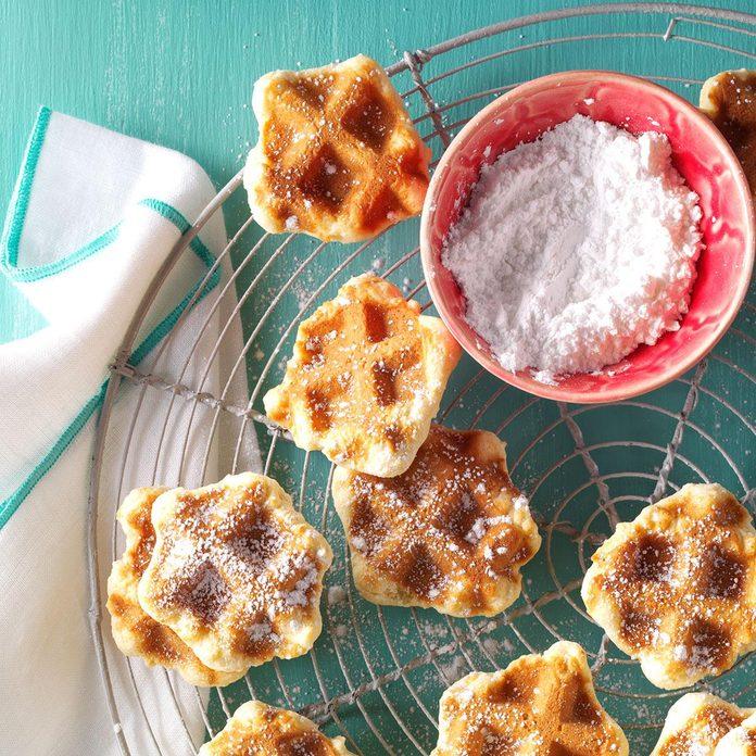 Dutch Waffle Cookies