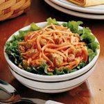 Carrot Raisin Salad for Two