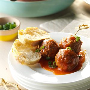 Slow-Cooker Sweet and Sour Meatballs