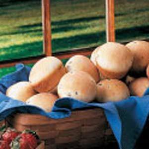 Asparagus Yeast Rolls