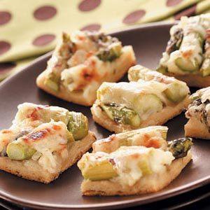 Asparagus Snack Squares