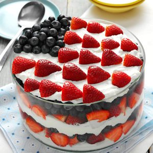 Red, White and Blue Dessert