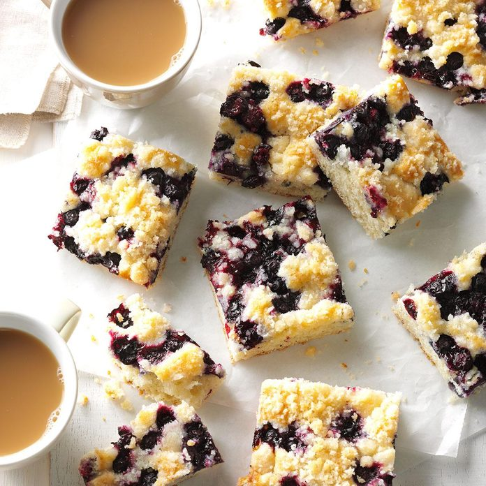North Dakota: Blueberry Kuchen