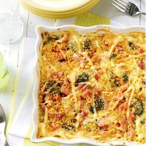 Broccoli-Ham Hot Dish