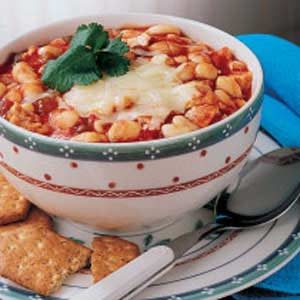 Contest-Winning Chicken Chili