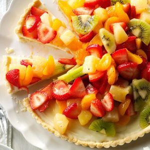 White Chocolate Fruit Tart