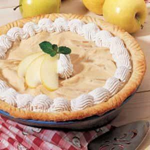Maple Apple Cream Pie