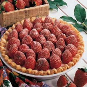 Strawberry Cheese Pie