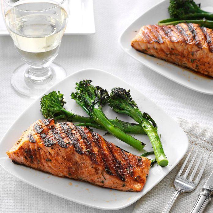 Spice-Rubbed Salmon