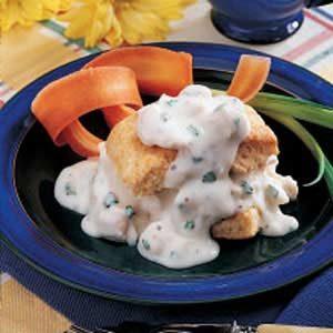 Creamed Chicken 'n' Biscuits
