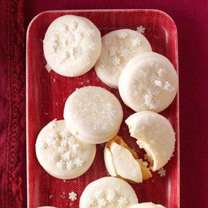 Buttery Lemon Sandwich Cookies