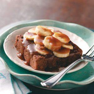 Butterscotch Banana Dessert