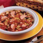 Bean Sausage Soup
