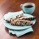 Brownie Alpine Biscotti