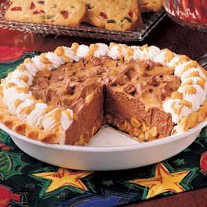 Tin Roof Fudge Pie
