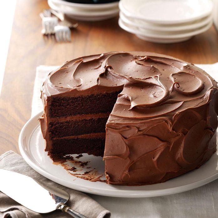 Pennsylvania: Sandy's Chocolate Cake