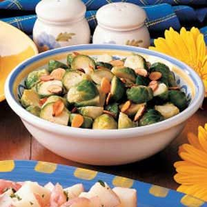 Almond Brussels Sprouts