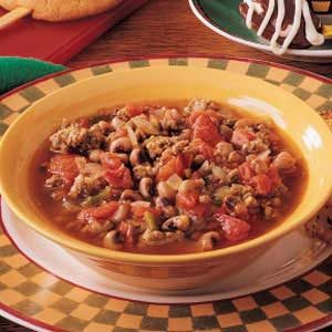 Hearty Black-Eyed Pea Soup