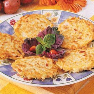 Bacon Potato Pancakes