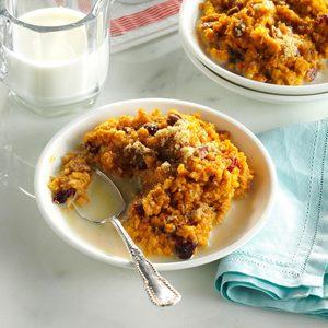 Pumpkin-Pecan Baked Oatmeal