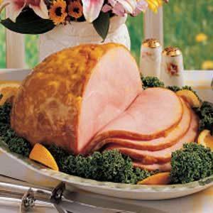 Mustard-Glazed Ham